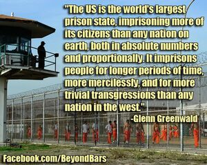 USA is world's largest prison state