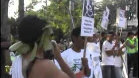 Indonesian Global Marijuana March (GMM) 2010
