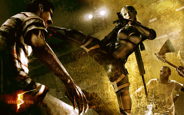 File:Resident Evil 5 - Desperate Escape wallpaper - Jill Valentine.jpg