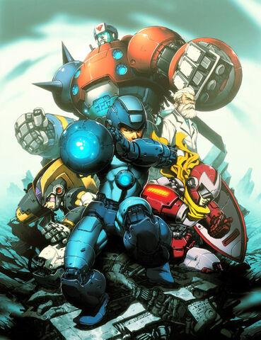 File:Megaman tribute by ngboy-d3egj6y.jpg