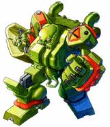 Cyberbots P-10033 GAITS