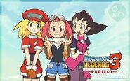 Mega Man Legends 3 wallpaper - Tron Bonne Roll Sephira (Aero)