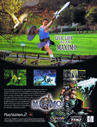 Maximo GtG Advertisement