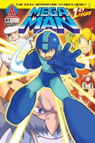 File:Mega Man Archie issue 1.png