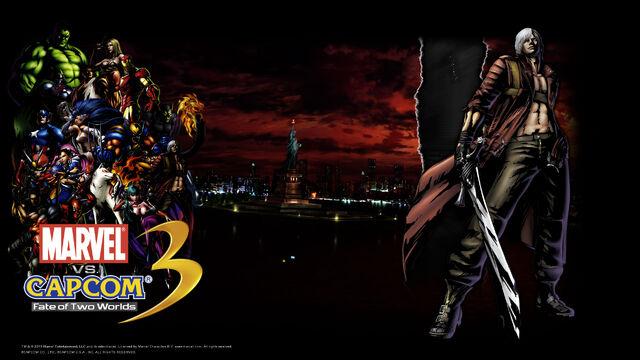 File:Marvel Vs Capcom 3 wallpaper - Dante.jpg