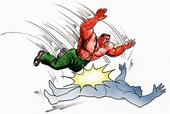 Haggar Jump Attack