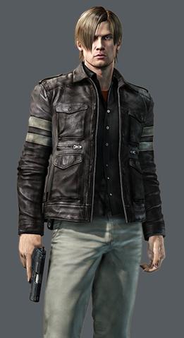 File:REREV2 Leon Raid Mode.png