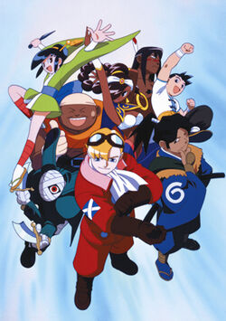 Power Stone Fighters