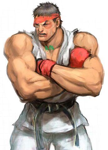 File:SFIV PC Concept Art Ryu .jpg