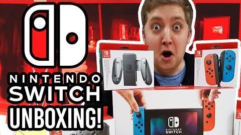 Nintendo Switch Unboxing Setup!