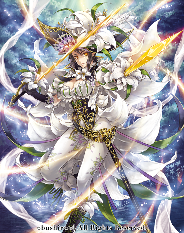 card gallerywhite lily musketeer captain cecilia