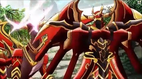 (Legion Mate) Cardfight!! Vanguard Brawler, Skybeat Dragon & Brawler, Skyhowl Dragon 'Legion' - HD-0