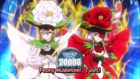 (Legion Mate) Cardfight!! Vanguard Peony Musketeer, Martina & Peony Musketeer, Thule 'Legion' - HD-1