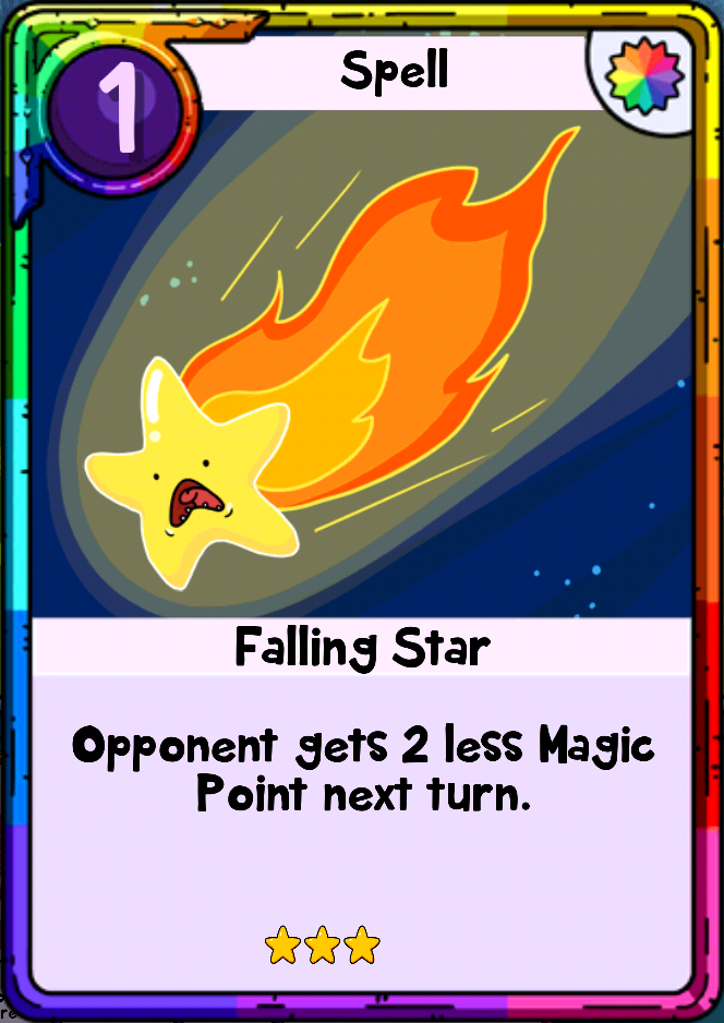 Falling Star | Card Wars Wiki | Fandom powered by Wikia
