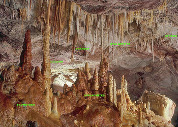 Labeled speleothems