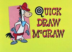 Quick Draw McGraw Title