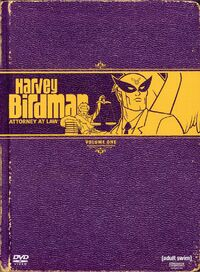 Harvey Birdman DVD
