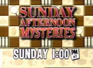 Sunday Afternoon Mysteries Logo