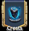 Crests button
