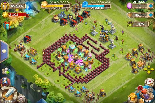 Castle clash art