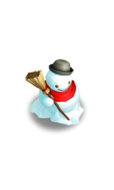 Decorative Snowman