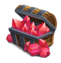Red Crystal Box L