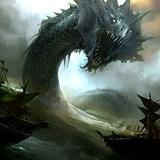 Alpha Sapphire Sea Serpent