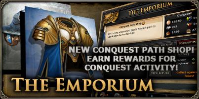 Conquest paths news