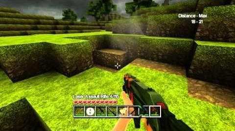 CastleMiner Z Update 1.5 Laser Weapons