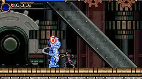 Castlevania Circle of the Moon Boss 3 Iron Golem - No Damage, No Subweapons