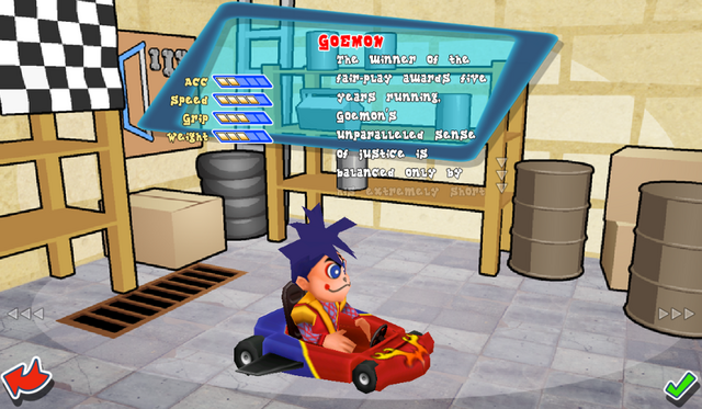 File:Krazy Kart Racing - Goemon 01.png