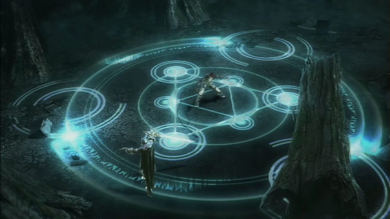 File:Judgment Intro 15 - Alucard Casts Circle.JPG
