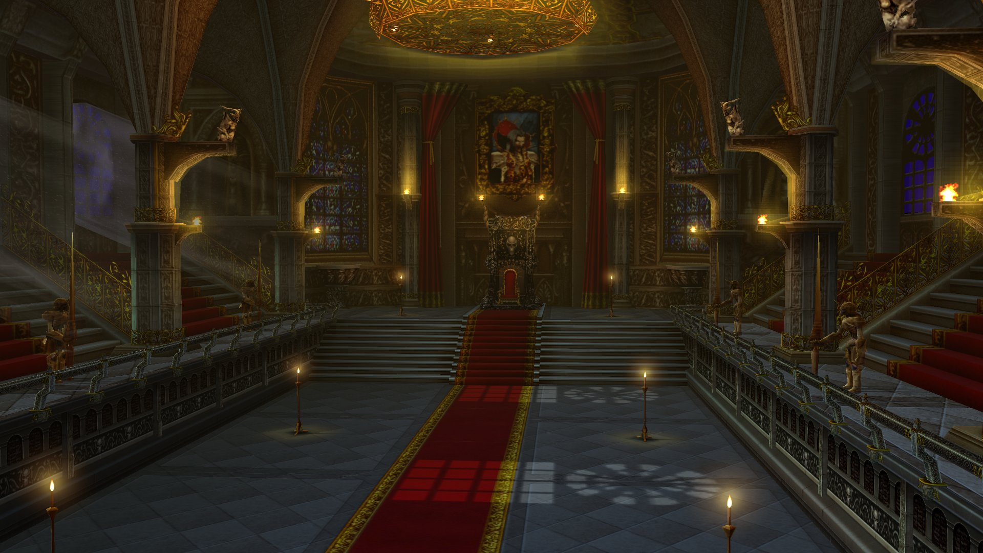 Evil kings throne room - Three Kings Vs Krevitz Procas Dark Mage Cleon