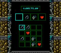 Dracula's Curse - Password - 03