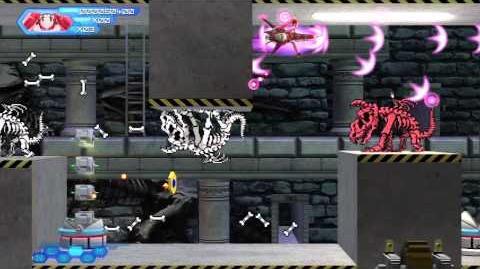 "Konami Lady in Otomedius Excellent - Stage EX1, ""St"