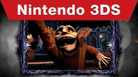 Nintendo 3DS - Castlevania Lords of Shadow - Mirror of Fate E3 Trailer