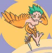 PoR Illustrated Harpy