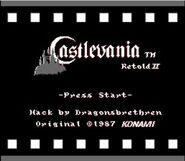 Castlevania Retold II Title