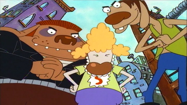 File:Greasers Ready To Beat Up CatDog.png