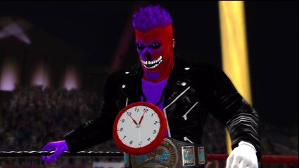Crazy Bob HWE IC champ