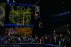 Tha Scorpion with the Kendo Stick