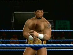 James Dark as DMW World champion 3