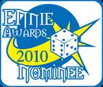 Ennies award nominee 2010