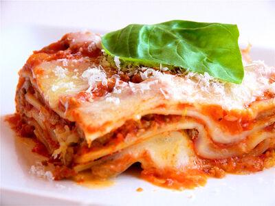Lasagnabolognese