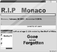 RIP Monaco
