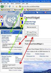 Wikipage widget source page parameter DOES NOT recognize an interwiki link