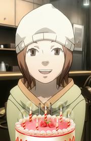 Happy birthday from Akiko-san