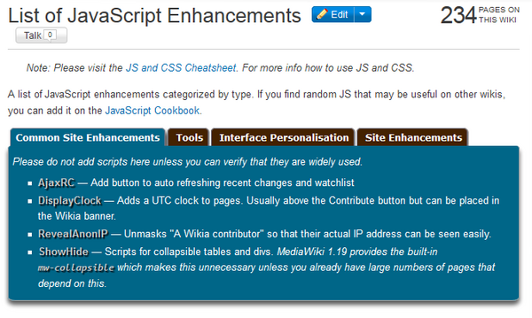 Tabber Extension CSS Reskinned Example