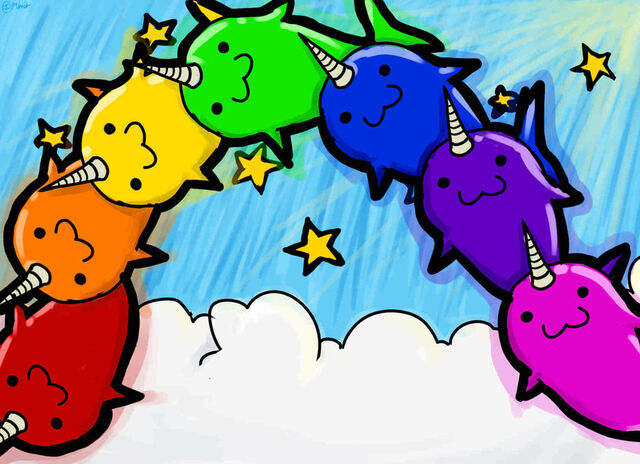 File:Narwhal rainbow by ramenwarrior.jpg