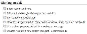 CreatePage useroptions